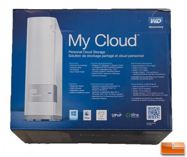 Western Digital My Cloud 2TB NAS ReviewWestern Digital My Cloud