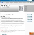 WD MyCloud GUI