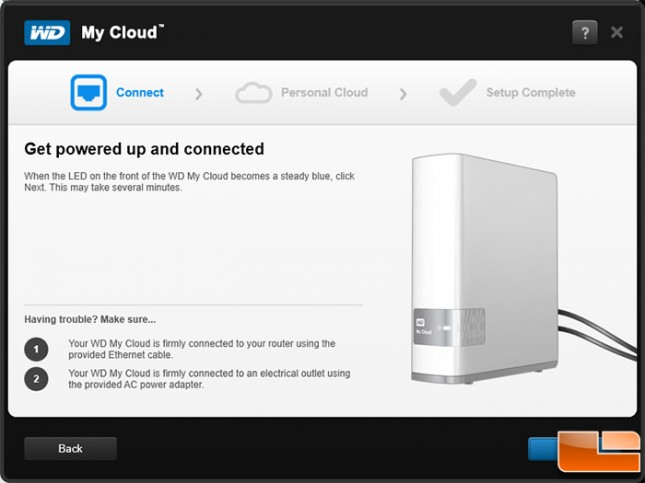 WD My Cloud Set Up