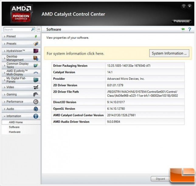 AMD Catalyst Control Center 14.1