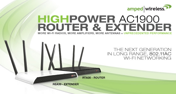 RTA30 High Power AC1900 Wi-Fi Router