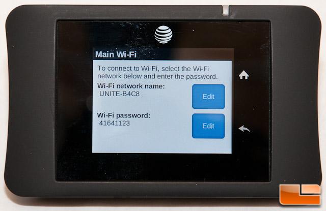 AT&T Unite Pro Main WiFi