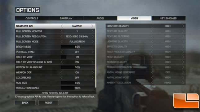 Battlefield 4 Mantle API