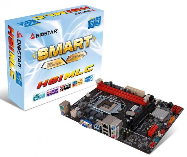 BIOSTAR H81MLC Motherboard