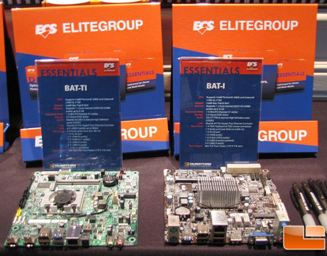 ECS Bay Trail Motherboards