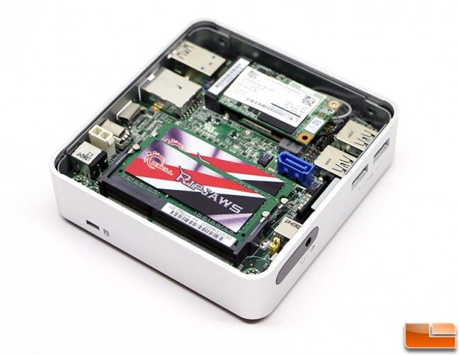 G.SKILL RIPJAWS 2133MHz DDR3L Intel NUC