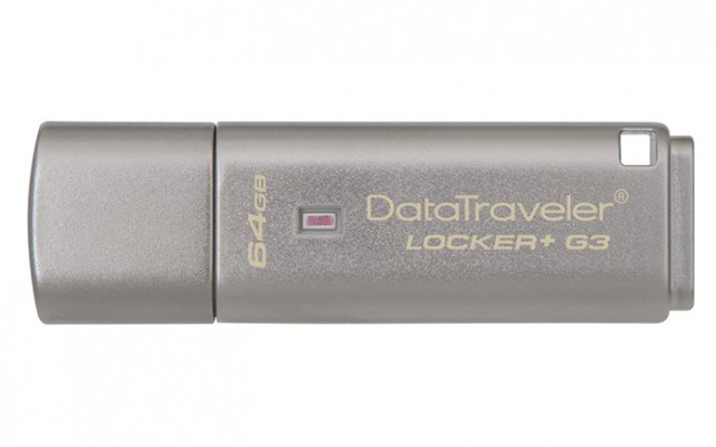 Kingston Digital Releases USB 3.0 Flash Drive for Personal Security