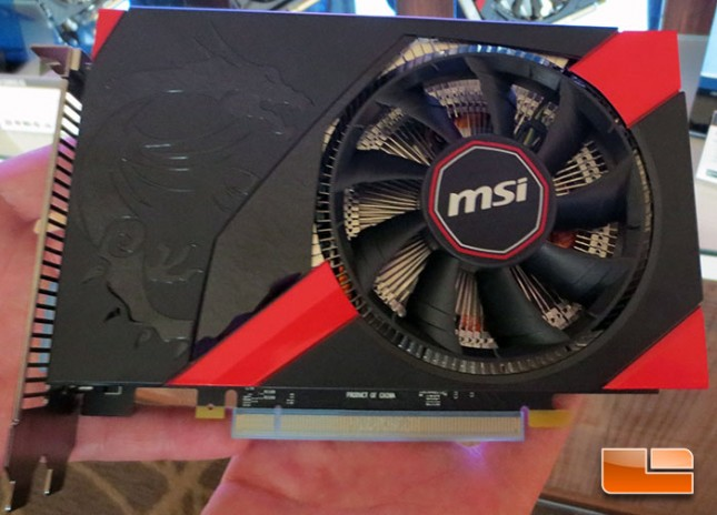 MSI GTX 760 ITX Graphics Card