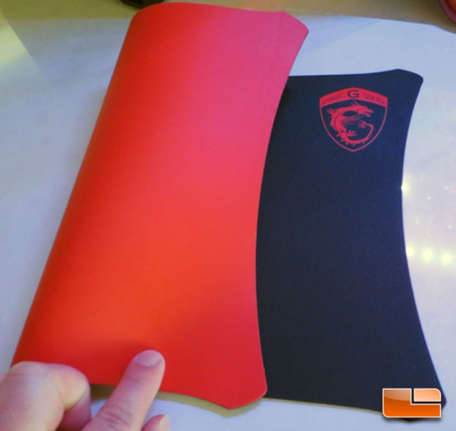 MSI Gaming Series Mouse Pad