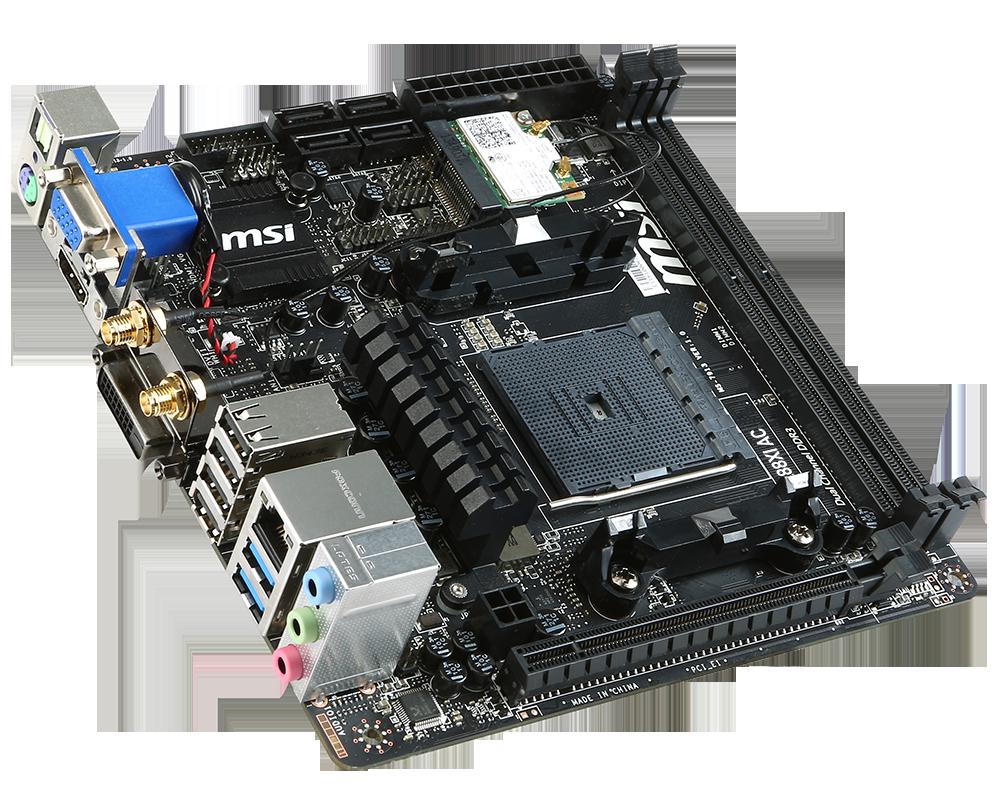 MSI announces FM2+ Mini-ITX A88XI AC motherboard - Legit Reviews