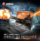 MSI GX Gaming Laptop