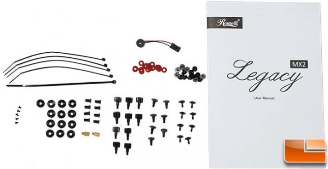 Legacy MX2-B Accessories