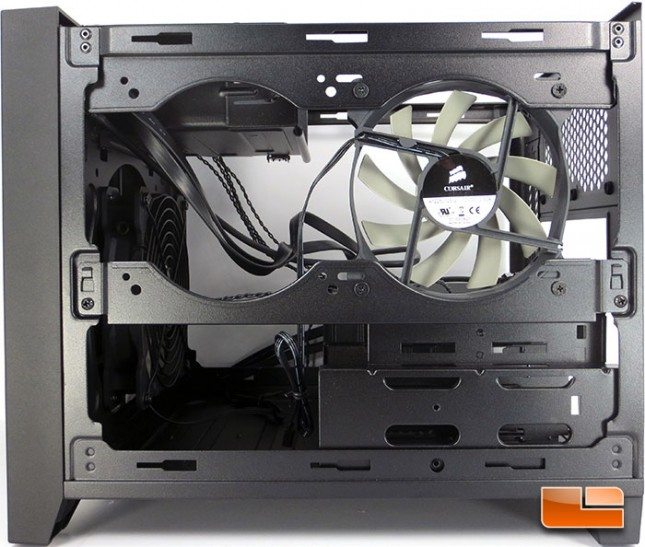 Corsair Obsidian 250D mini ITX Chassis Internal Features