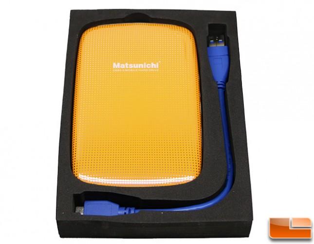 Matsunichi External USB 3.0 Drive