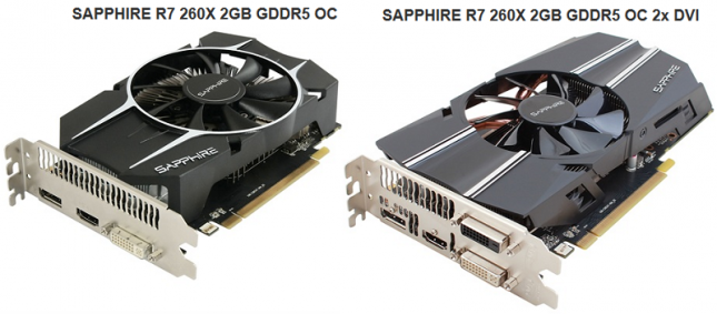Sapphire Radeon R7 260X 2GB OC 2x DVI Video Card Review - Legit