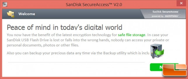 SanDisk Secure Access