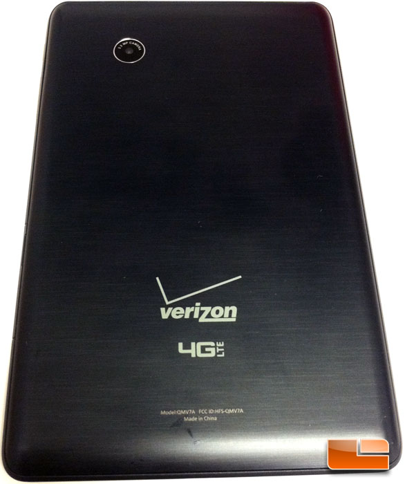 Verizon Ellipsis 7 4G LTE Tablet