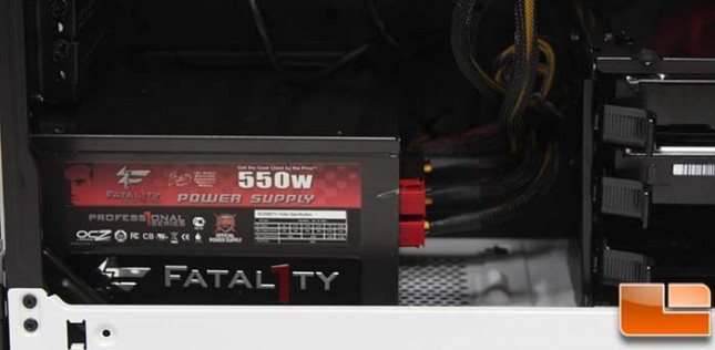 Corsair Graphite 760T Install Power Supply