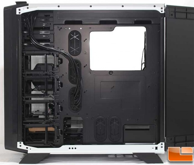 Corsair Graphite 760T Internal Back MB Tray