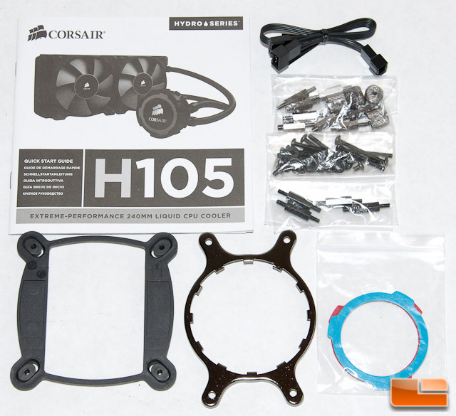 Corsair H105 Accessories