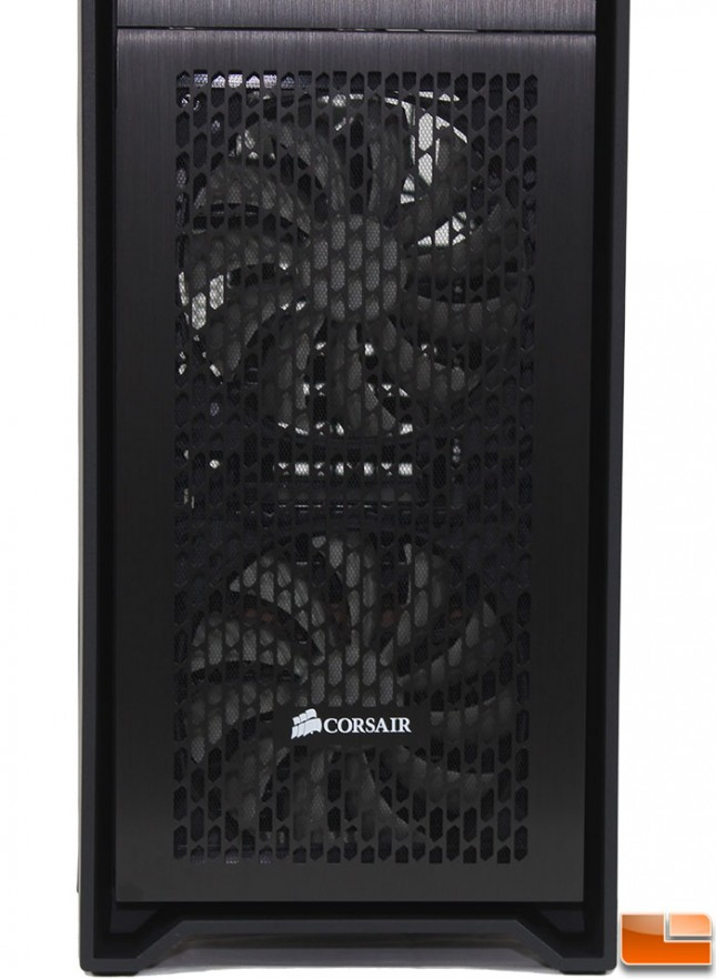 Corsair Obsidian 450D External Front Bottom