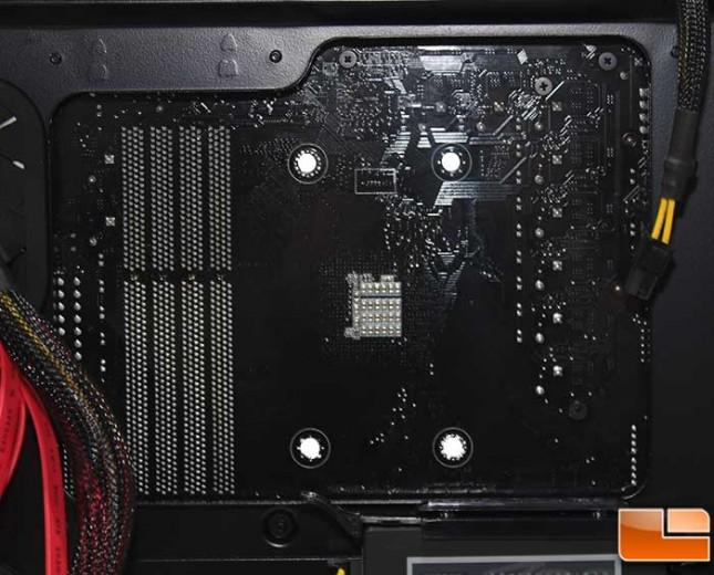 Corsair Obsidian 450D Install CPU Cutout