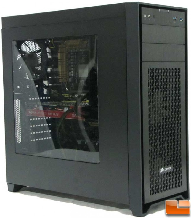 Corsair Obsidian 450D Install Full View