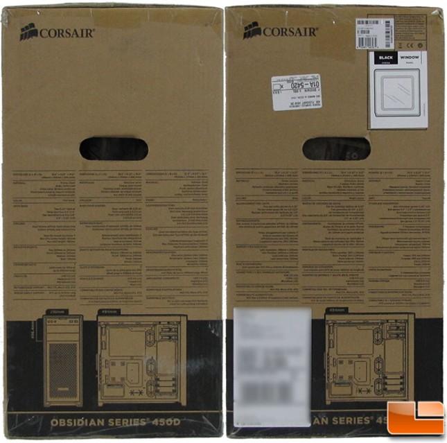 Corsair Obsidian 450D Box Sides