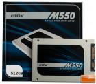 Crucial M550 512GB SSD