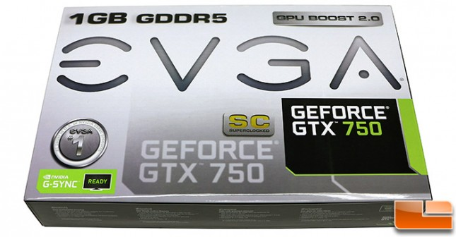 EVGA GeForce GTX 750 1GB SC