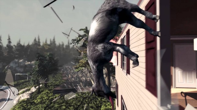 Goat Simulator Official Launch Trailer Released – Steam Pre-Order Coming April 1st