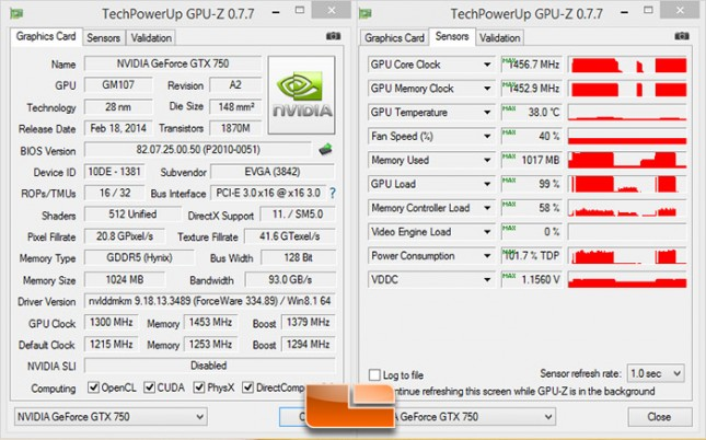 EVGA GeForce GTX 750 Overclock