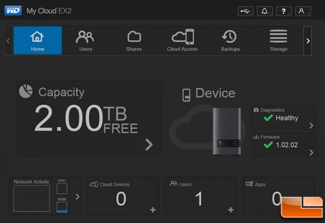 wd my cloud ex2 2-bay personal cloud nas review