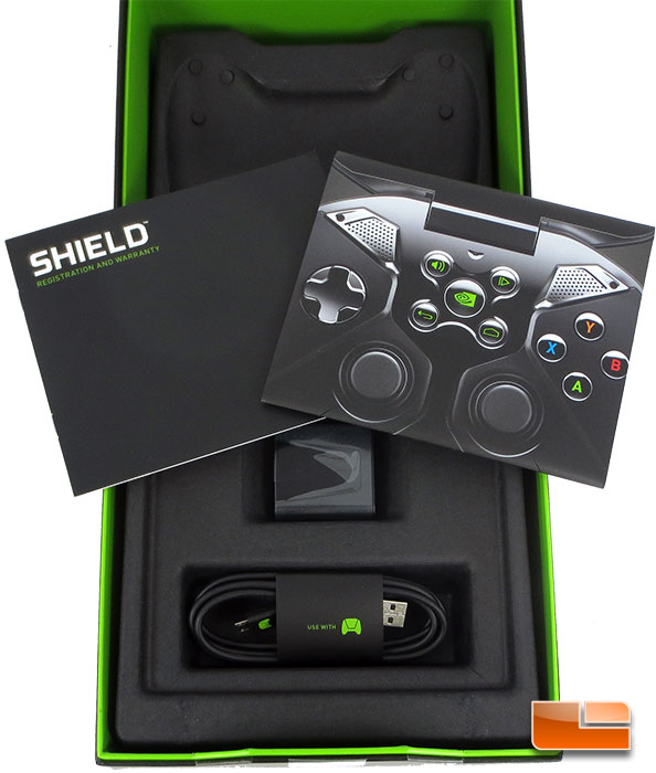 NVIDIA SHIELD Retail Packaging & Accesory Bundle