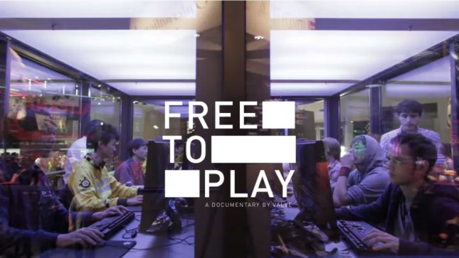 Valve Streams 'Free To Play' Documentary on Dota 2 Players