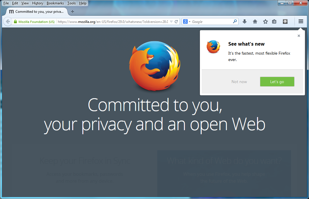 Mozilla Rolls Out Firefox 29 Web Browser - Legit Reviews