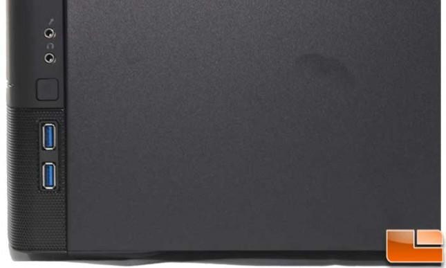 Fractal Design Node 804 Exterior Front I/O