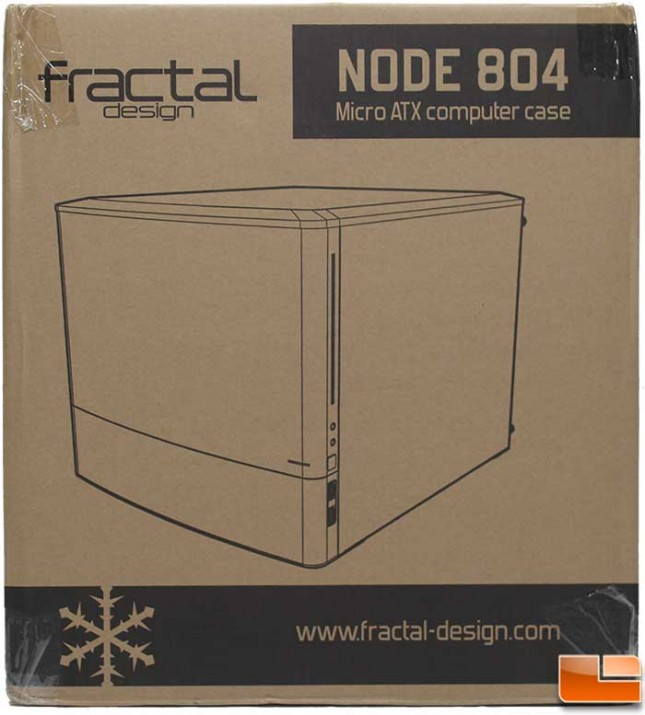 Fractal Design Node 804 Packaging Front