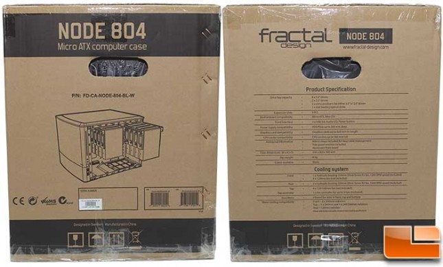 Fractal Design Node 804 Packaging Sides