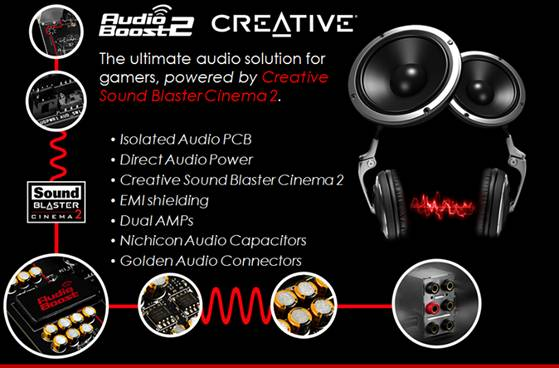 MSI Creative Audio Boost 2