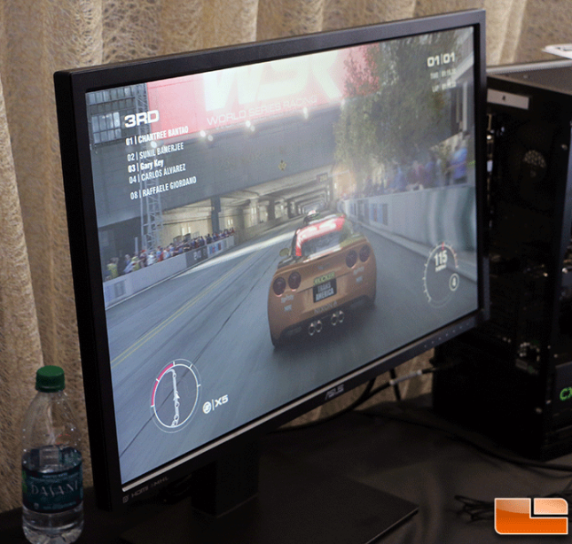 GRID 2 on ASUS PB287 4K Gaming