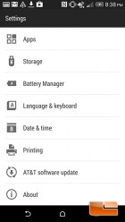 HTC One M8 Software