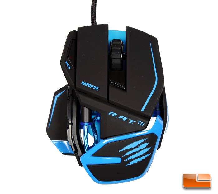 Catz R.A.T. TE Gaming Mouse Review - Legit ReviewsMad Catz R.A.T. TE ...