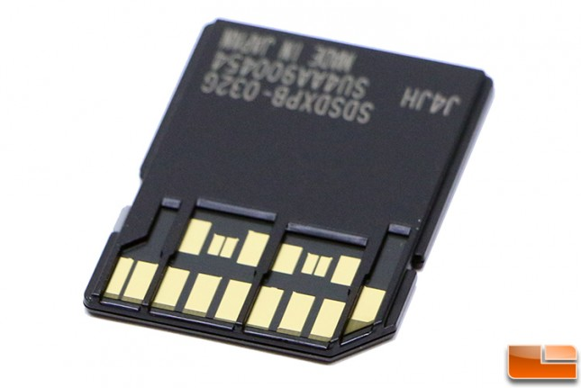 UHS-II Interface Pins