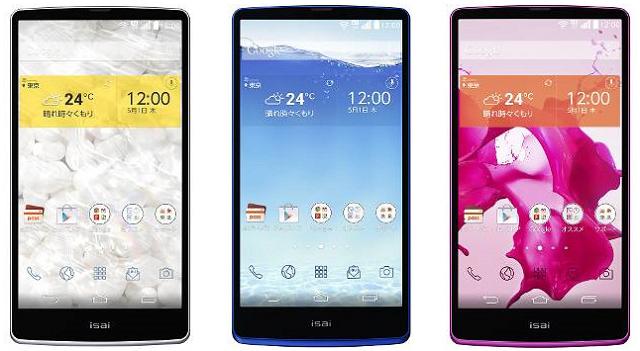 LG ISAI FL Smartphone