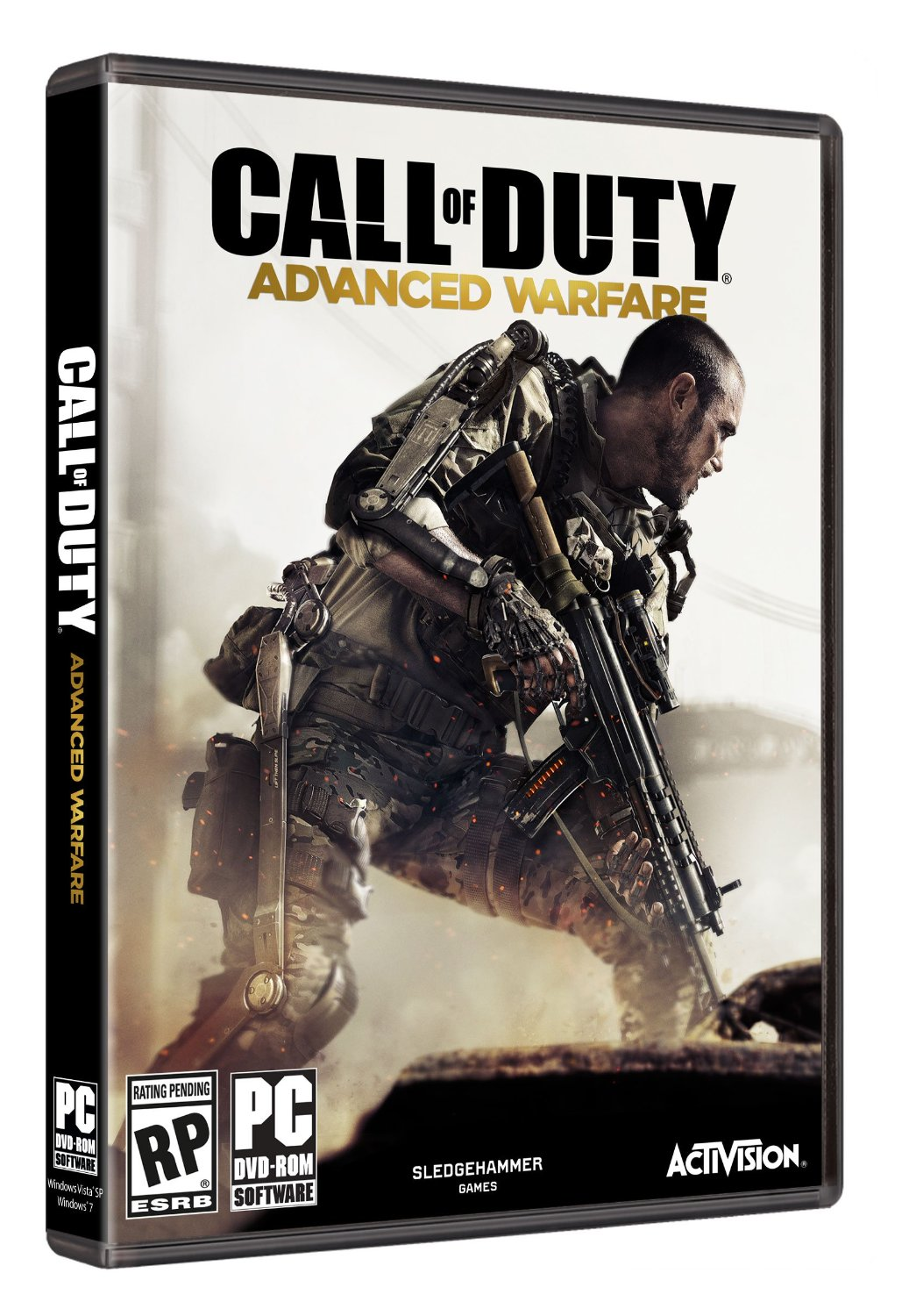 Call of Duty: Advanced Warfare Box Art Revealed - Legit ...