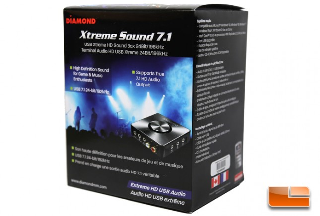 Diamond Xtreme Sound 7.1 XS71HDU