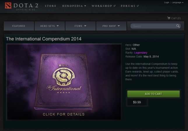 The International Compendium 2014