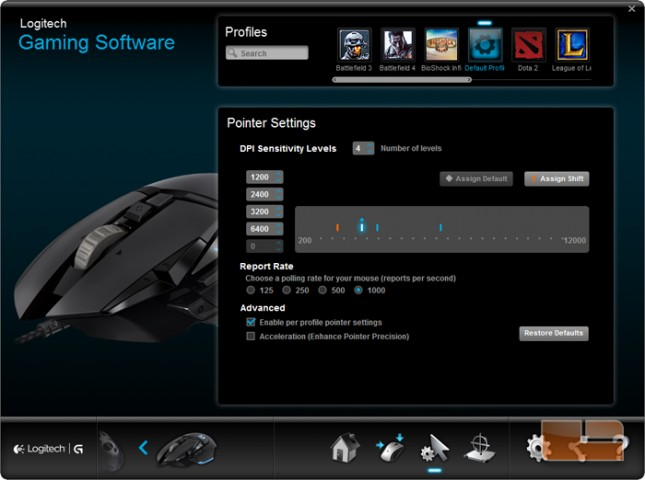 Logitech G502 Proteus Core Gaming Mouse and G240 Cloth Gaming Mouse