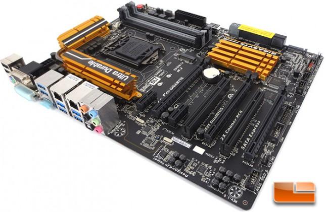 GIGABYTE Z97X-UD5H Intel Z97 Motherboard Layout